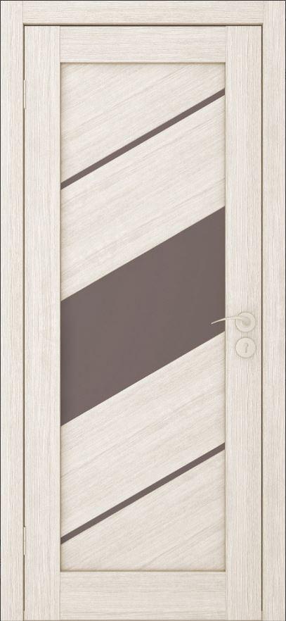 Межкомнатные двери Исток Диагональ-3 Капучино бронза