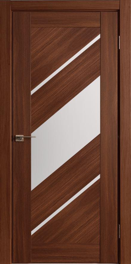 Межкомнатные двери Исток Диагональ-3 Каштан мелинга