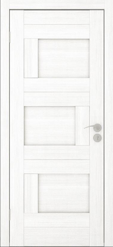Межкомнатные двери Исток Домино-1 Ясень белый