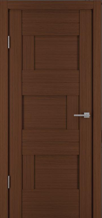 Межкомнатные двери Исток Домино-1 Каштан мелинга