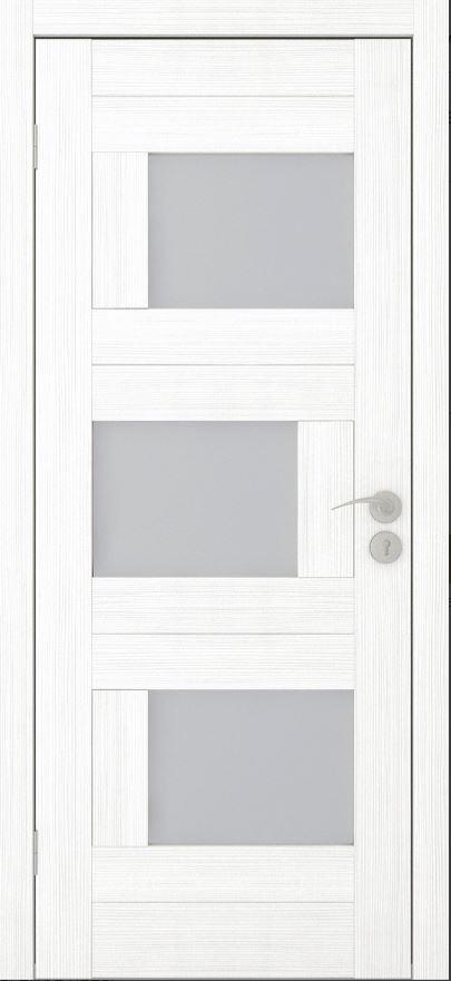 Межкомнатные двери Исток Домино-2 Ясень белый