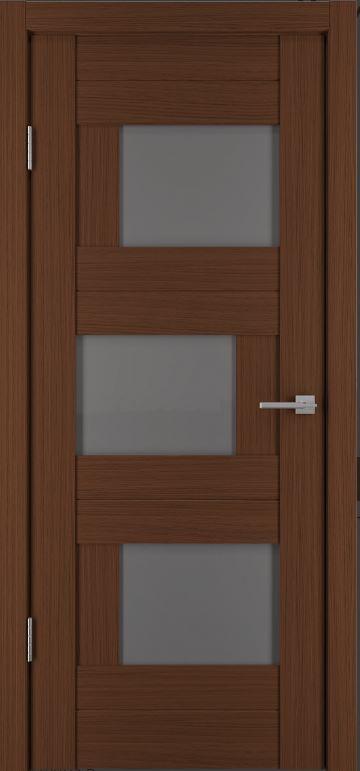 Межкомнатные двери Исток Домино-2 Каштан мелинга бронза