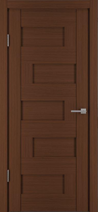 Межкомнатные двери Исток Домино-3 Каштан мелинга