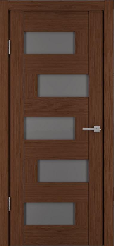 Межкомнатные двери Исток Домино-4 Каштан мелинга бронза