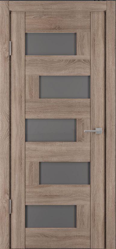 Межкомнатные двери Исток Домино-4 Спил седой бронза