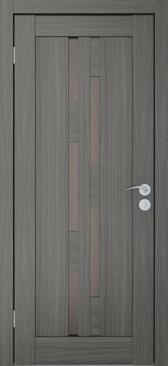 Межкомнатные двери Исток Элегия-4 Дуб неаполь бронза