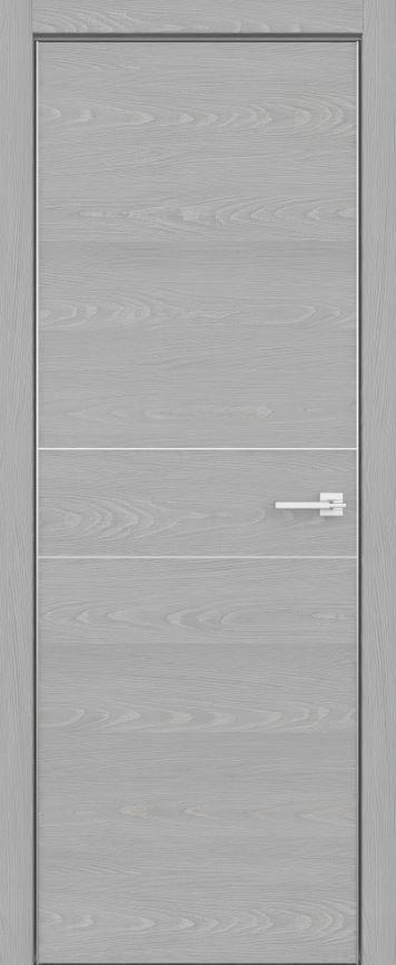 Двери межкомнатные из натурального шпона дуба Fondo -102 Аргенто