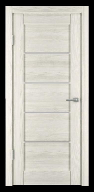Межкомнатная дверь Горизонталь-1 Дуб снежный