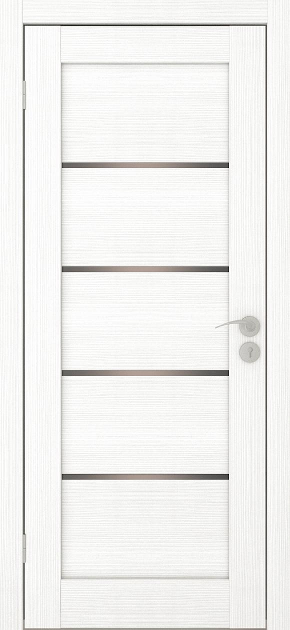 Межкомнатная дверь Горизонталь-1 Ясень белый