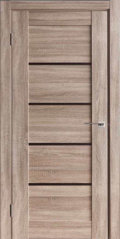 Двери межкомнатные Горизонталь-1 Спил Седой