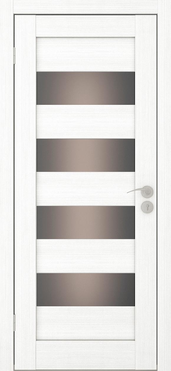 Межкомнатная дверь Горизонталь-2 Ясень белый
