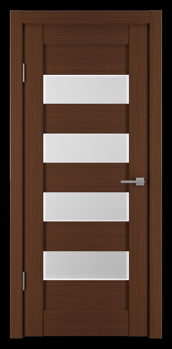 Межкомнатная дверь Горизонталь-2 Каштан мелинга