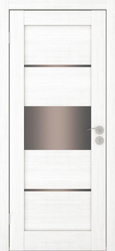 Межкомнатная дверь Исток Горизонталь-3 Ясень белый