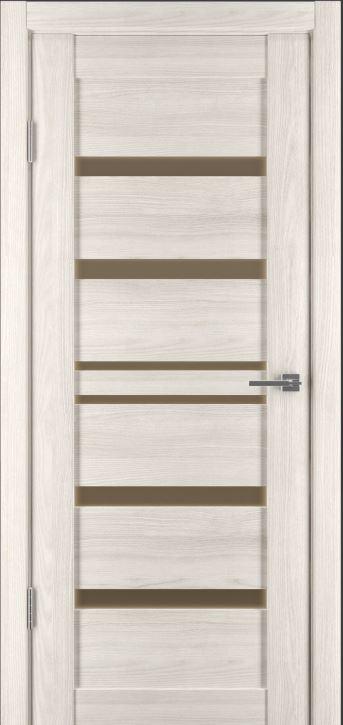 Межкомнатная дверь Исток Горизонталь-11 Дуб снежный