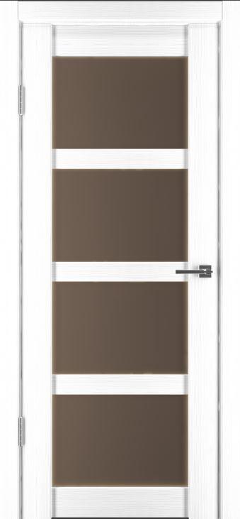 Межкомнатные двери Исток Горизонталь-12 Ясень белый