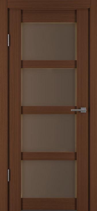 Межкомнатные двери Исток Горизонталь-12 Каштан мелинга