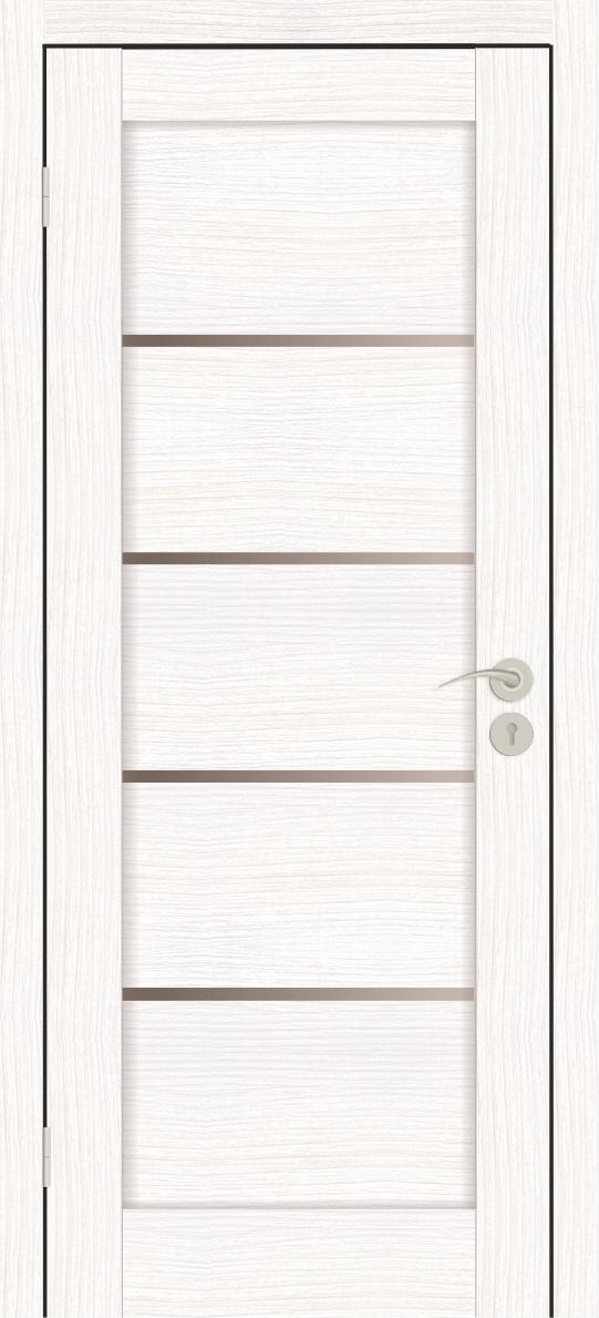 Межкомнатные двери Горизонталь-1 Бьянко