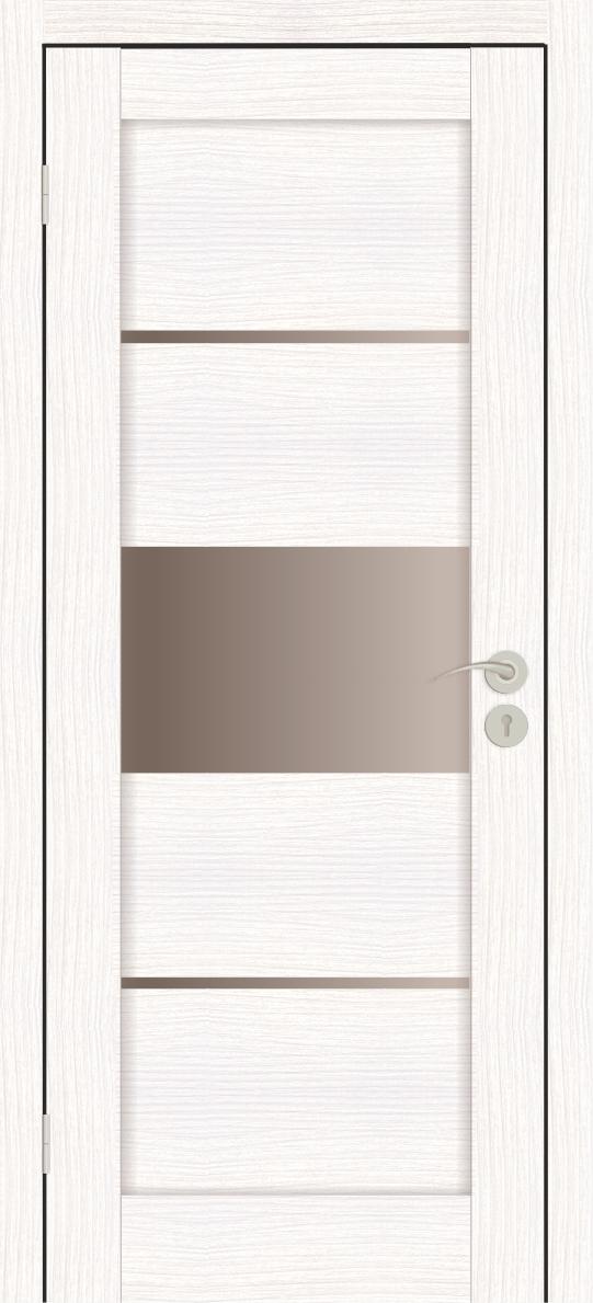 Межкомнатная дверь Горизонталь-3 Бьянко