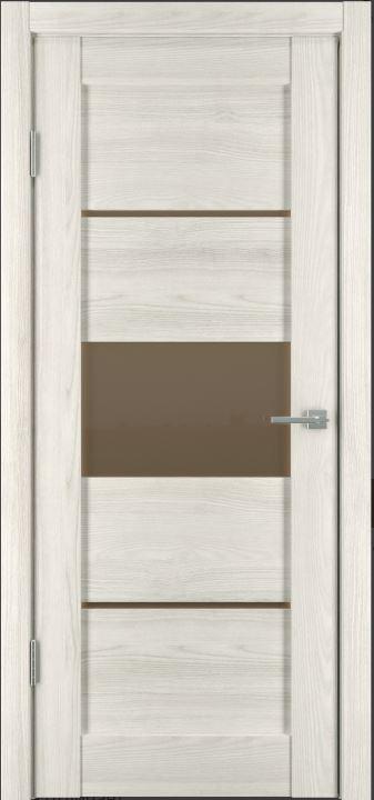Межкомнатная дверь Горизонталь-2 Дуб снежный