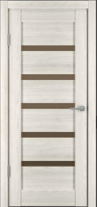 Межкомнатная дверь Исток Горизонталь-5 Дуб снежный