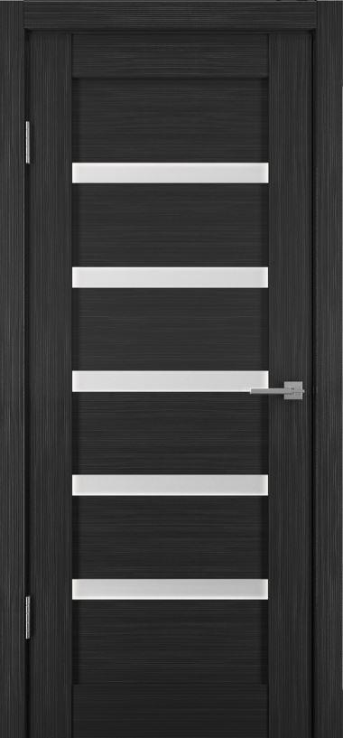 Межкомнатная дверь Исток Горизонталь-5 Венге мелинга