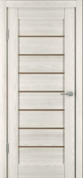 Межкомнатная дверь Исток Горизонталь-6 Дуб снежный