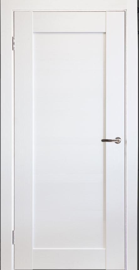 Межкомнатная дверь Исток Горизонталь-8 Ясень белый