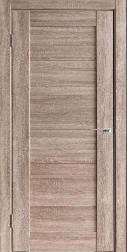 Межкомнатная дверь Исток Горизонталь-8 Спил седой