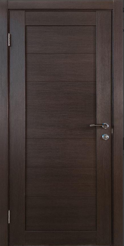 Межкомнатная дверь Исток Горизонталь-8 Венге мелинга
