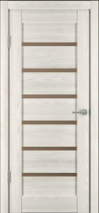 Межкомнатная дверь Исток Горизонталь-9 Дуб снежный