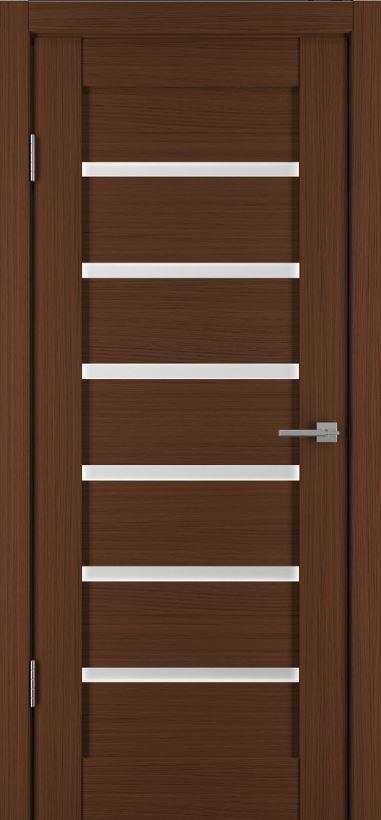 Межкомнатные двери Исток Горизонталь-9 Каштан мелинга