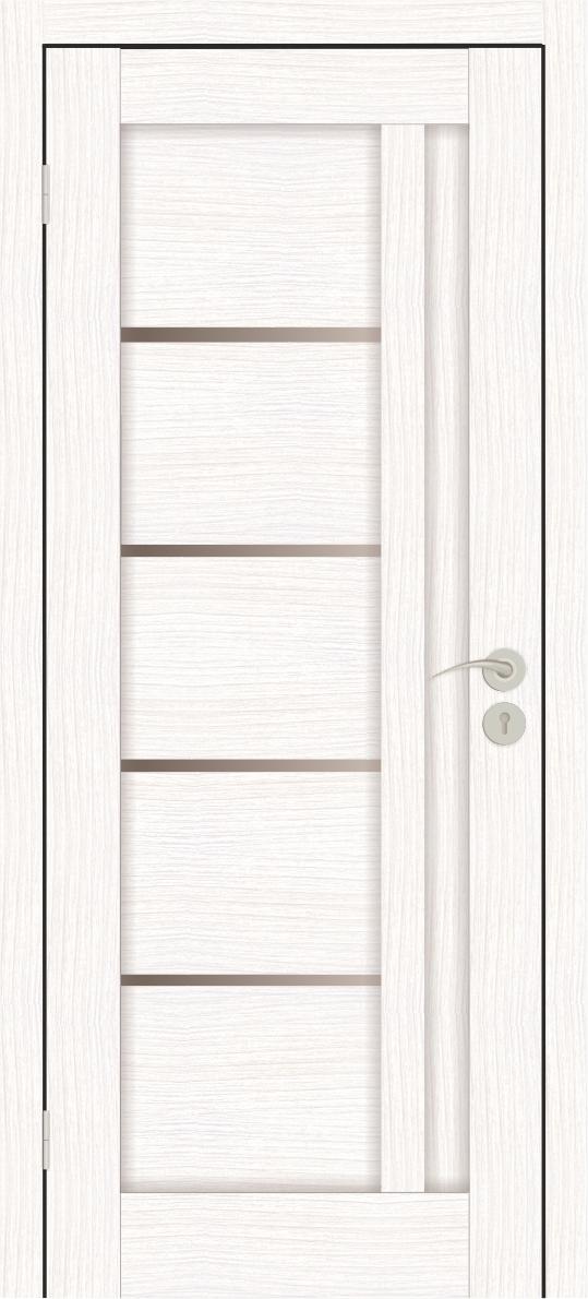 Межкомнатные двери Исток Микс-1 Бьянко бронза