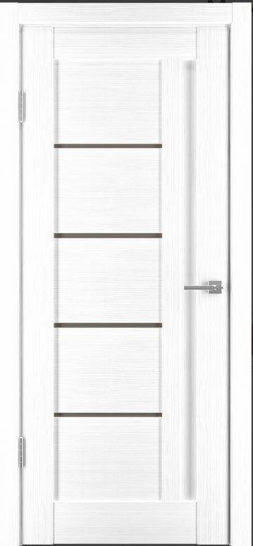 Межкомнатные двери Исток Микс-1 Ясень белый бронз