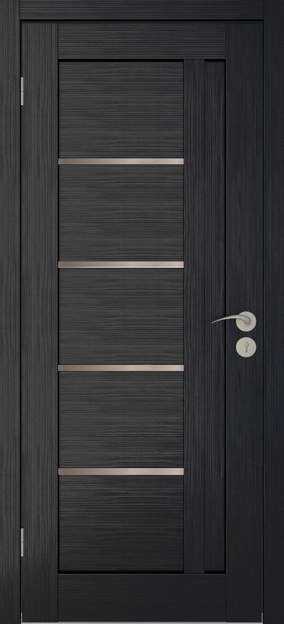 Межкомнатные двери Исток Микс-1 Венге мелинга бронза