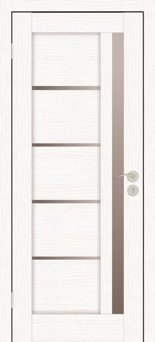 Межкомнатные двери Исток Микс-2 Бьянко бронза