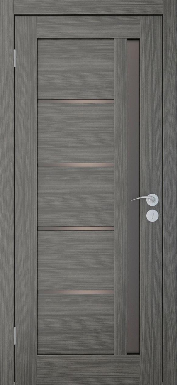 Межкомнатные двери Исток Микс-2 Дуб неаполь бронза
