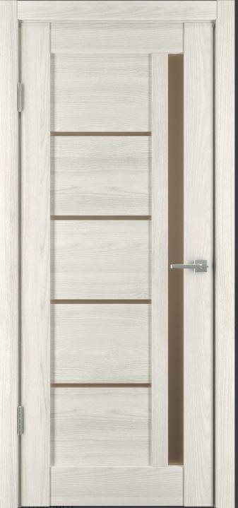 Межкомнатные двери Исток Микс-2 Дуб снежный бронза