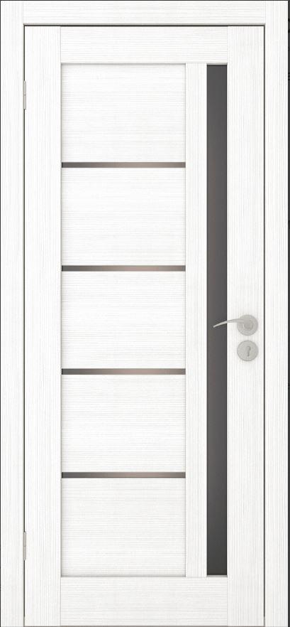 Межкомнатные двери Исток Микс-2 Ясень белый бронза