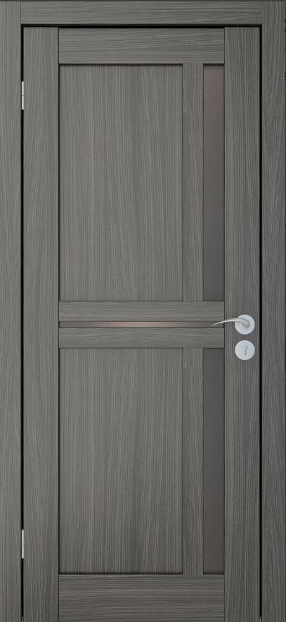 Межкомнатные двери Исток Микс-3 Дуб неаполь бронза