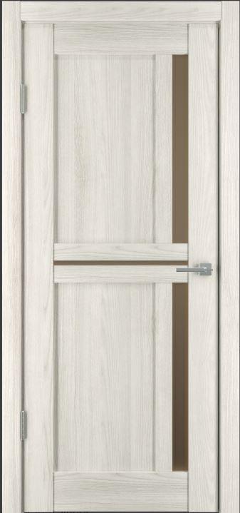 Межкомнатные двери Исток Микс-3 Дуб снежный бронза