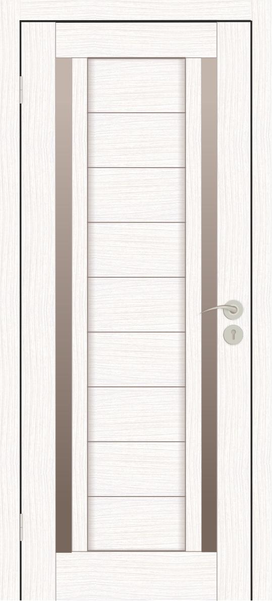 Межкомнатные двери Исток Микс-6 Бьянко бронза