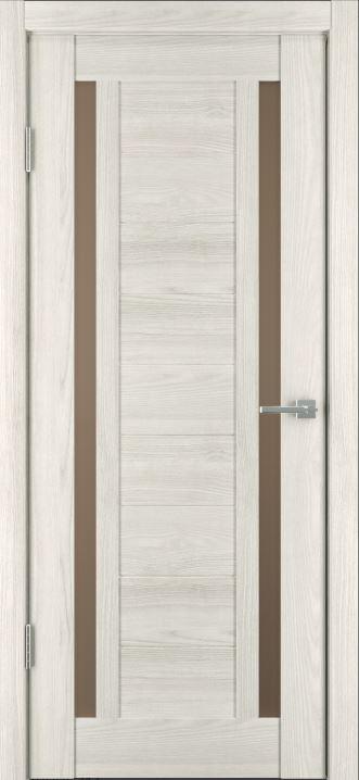 Межкомнатные двери Исток Микс-6 Дуб снежный бронза