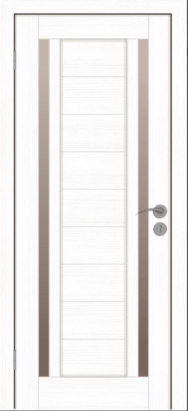 Межкомнатные двери Исток Микс-6 Ясень белый бронза