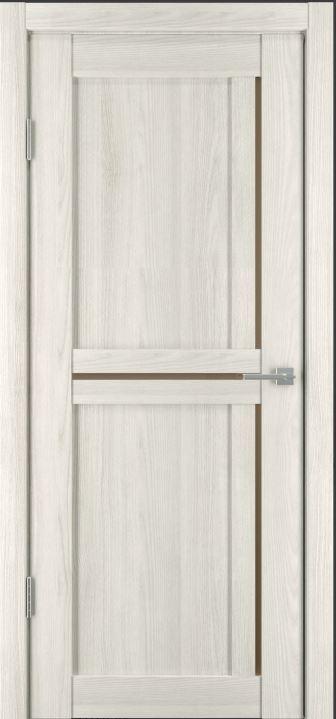 Межкомнатные двери Исток Микс-7 Дуб снежный бронза