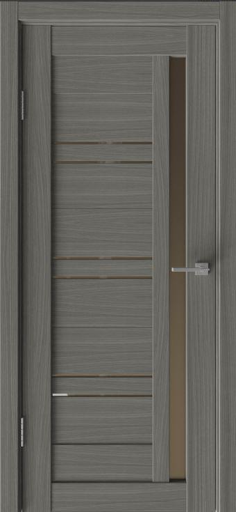 Межкомнатные двери Исток Микс-8 Дуб неаполь бронза