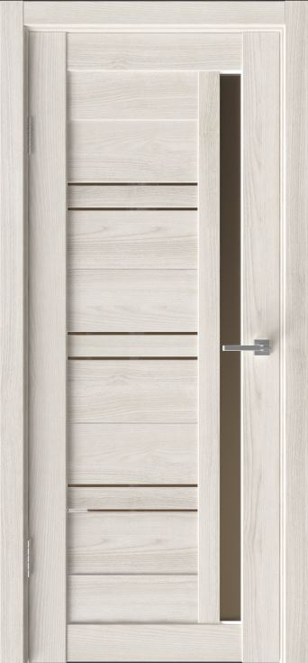Межкомнатные двери Исток Микс-8 Дуб снежный бронза