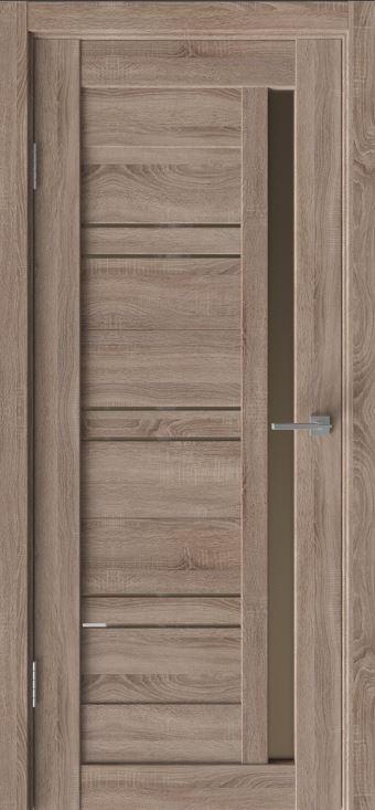 Межкомнатные двери Исток Микс-8 Спил седой бронза