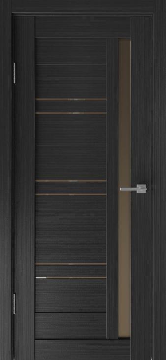 Межкомнатные двери Исток Микс-8 Венге мелинга.