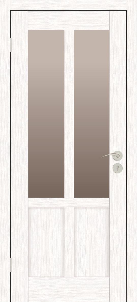 Межкомнатные двери Исток Палермо-2 Бьянко бронза