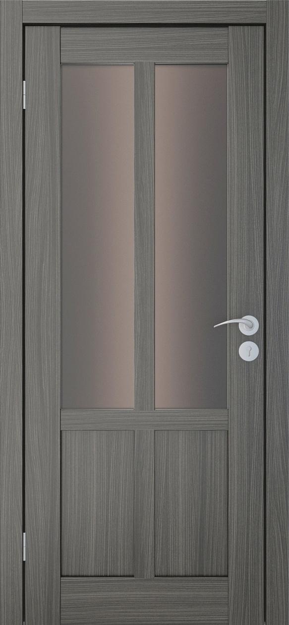 Межкомнатные двери Исток Палермо-2 Дуб неаполь бронза